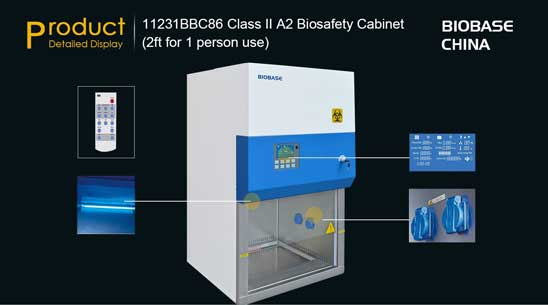 biological safety cabinet class II A2 Onboard solutions australia biobase china